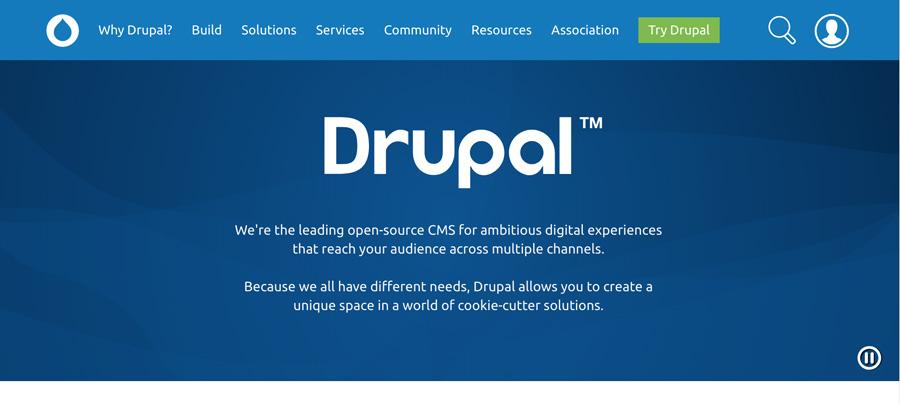 Sistem manajemen konten Drupal