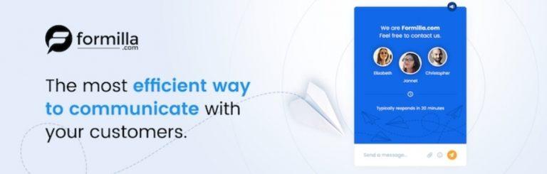 Cara pasang live chat di WordPress dengan plugin Live Chat by Formilla
