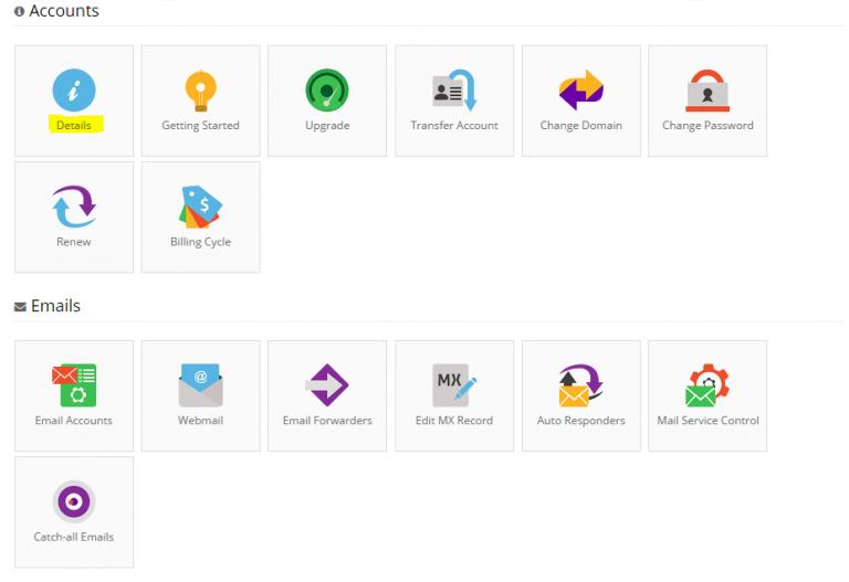 Cara menggunakan VPS melalui control panel hosting