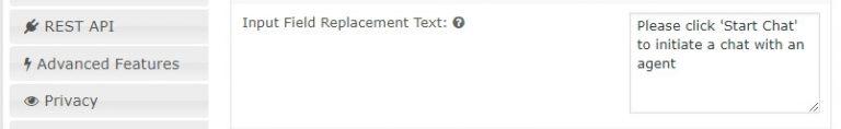 Kolom input teks