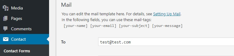 Menerima email