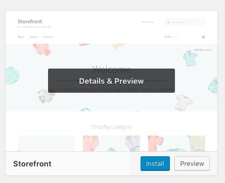 Cara membuat toko online dengan tema Storefront