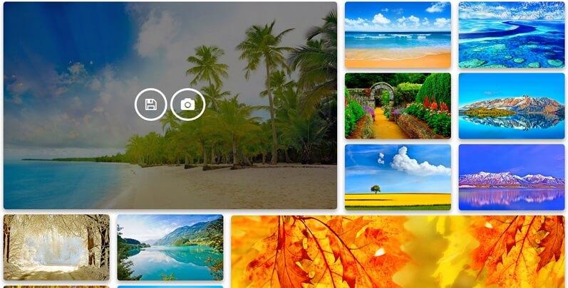 Contoh penggunaan plugin Photo Gallery