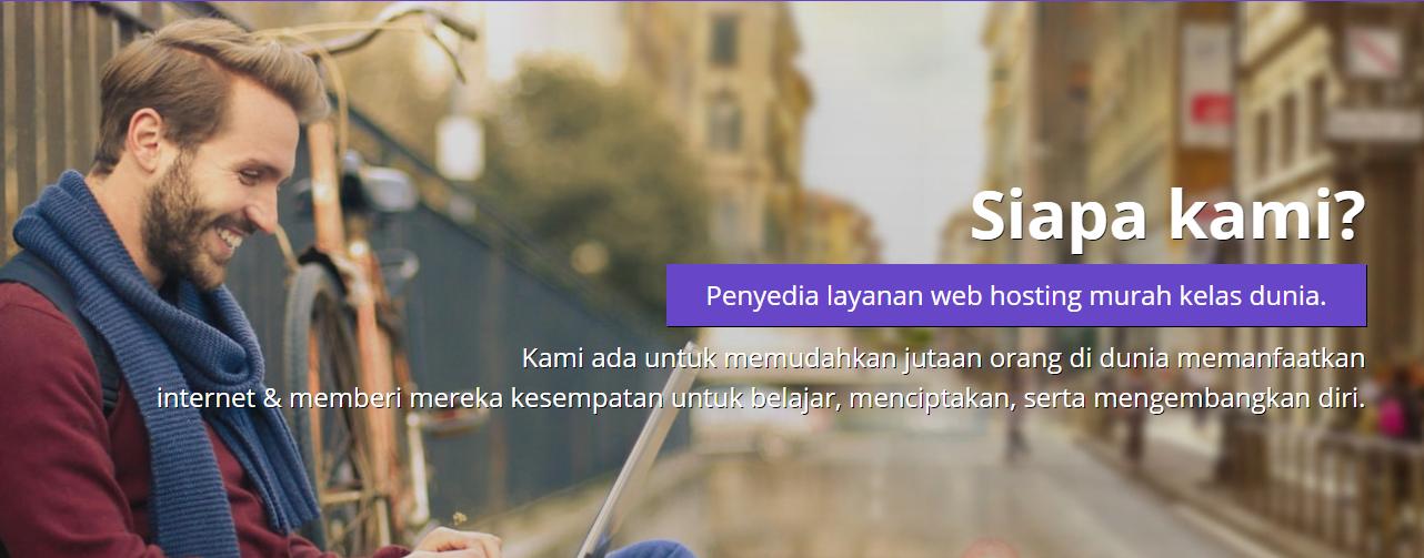 Membuat website perusahaan dan menambahkan halaman About Us (Tentang Kami)