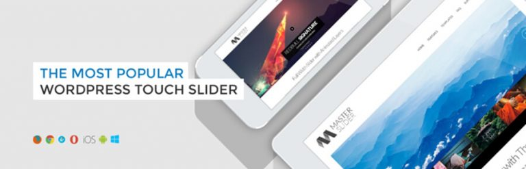 Master Slider - plugin slider WordPress terbaik