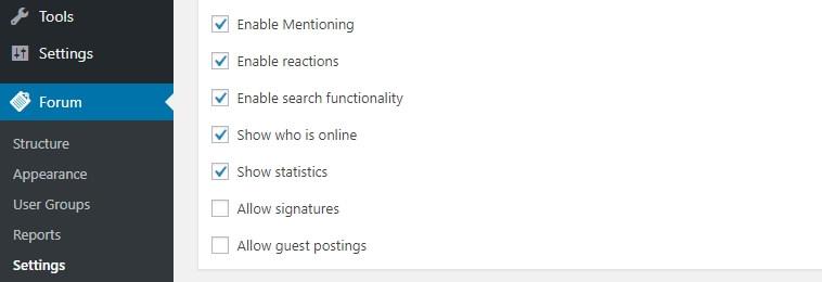 Mengaktifkan fitur mention dan guest post