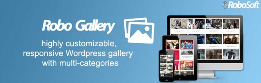 Gallery by Robo, salah satu gallery plugin WordPress