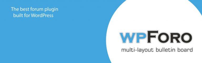 Plugin wpForo untuk cara membuat forum