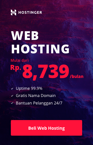 Web Hosting Diskon 90%
