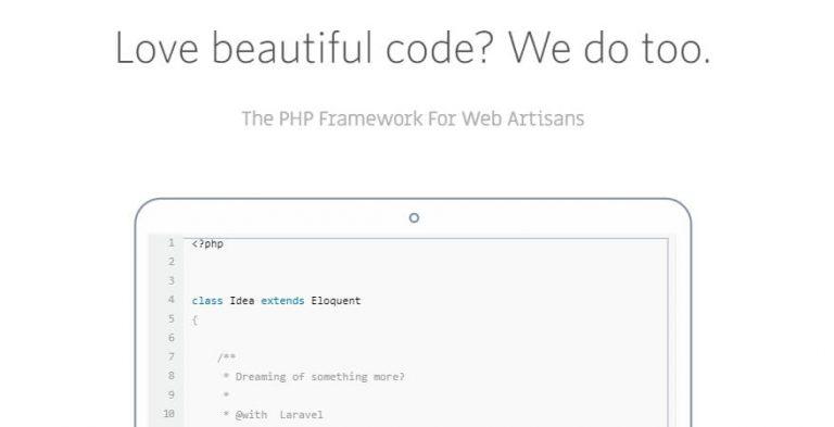 Framework PHP Laravel