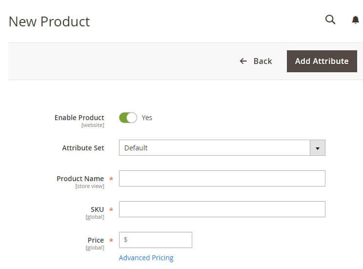 Menambahkan produk baru di Magento