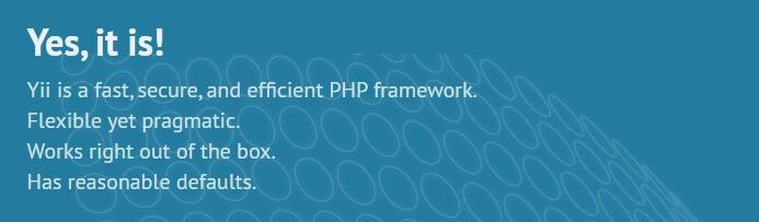 Framework PHP terbaik: Yii