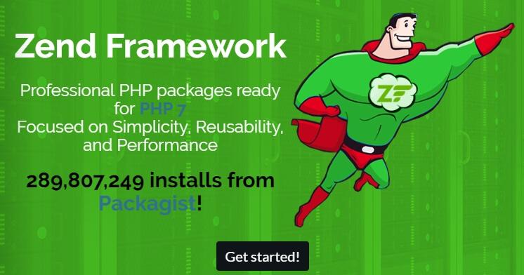 macam macam framework PHP: Zend
