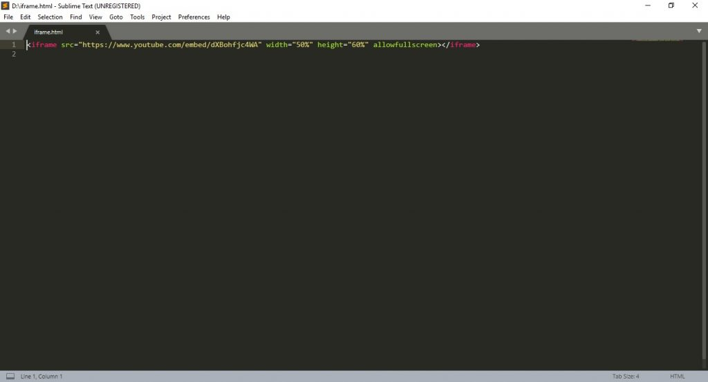 aplikasi text editor: Sublime Text