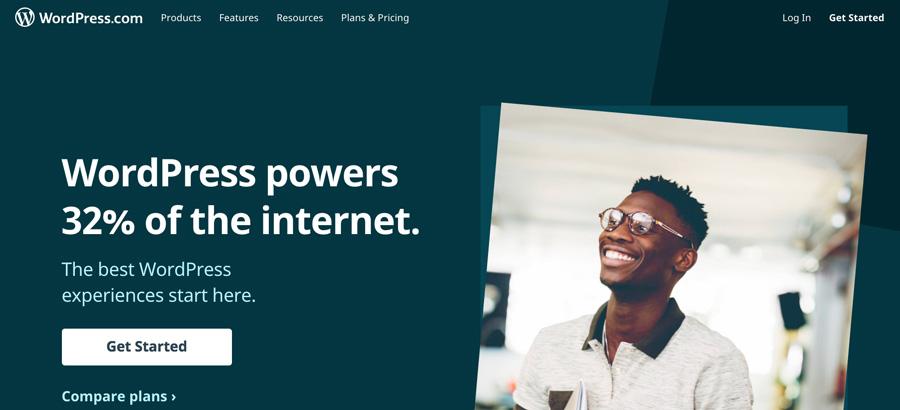 Beranda utama WordPress.com