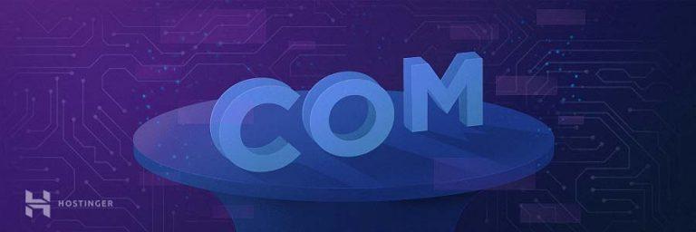 Cara membuat website fotografi: pilih domain
