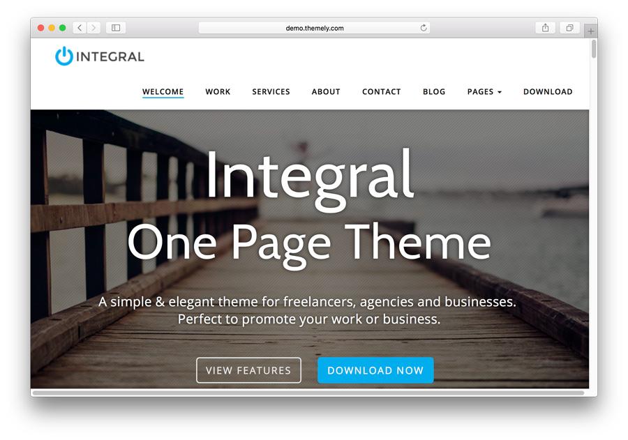 Template untuk portofolio: Integral