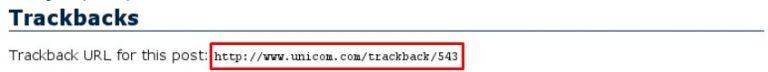 Pingback wordpress: contoh URL trackback