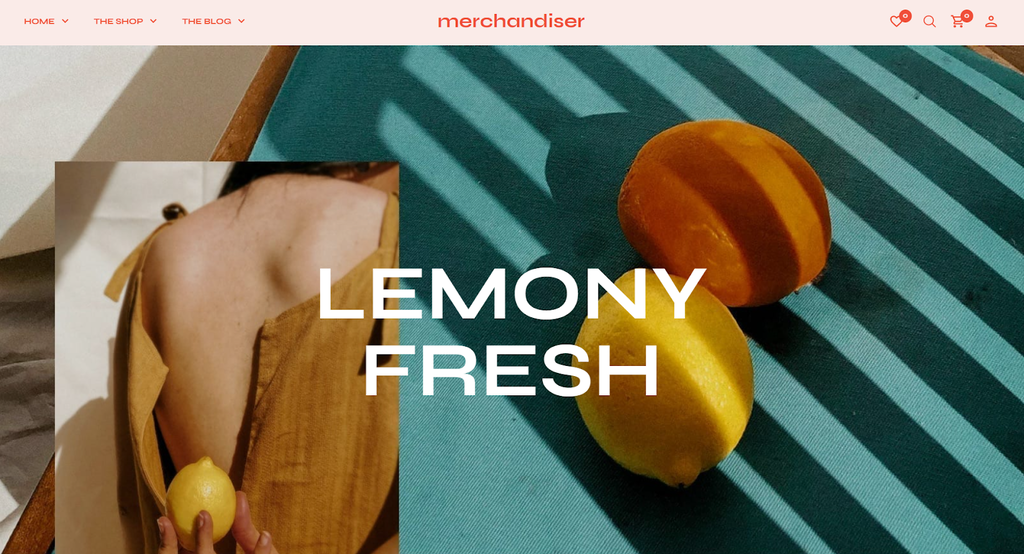 Theme ecommerce WordPress Merchandiser