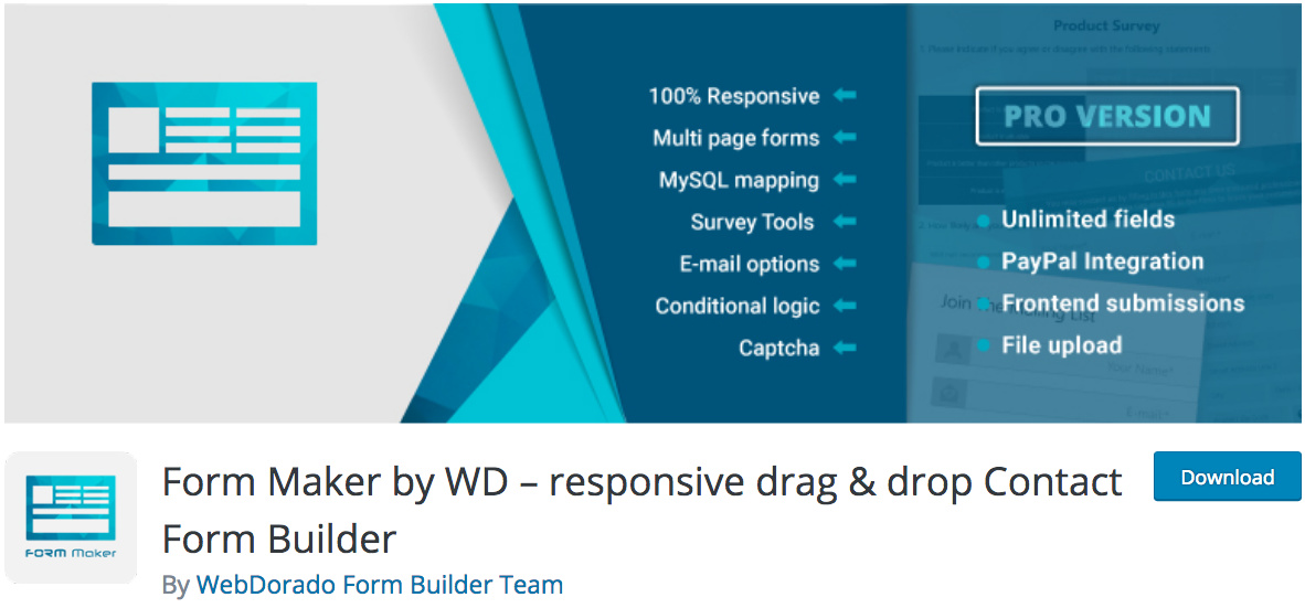 banner form maker by wd