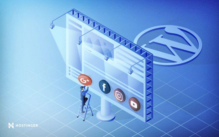 Cara Menambahkan Logo Sosmed (Media Sosial) di WordPress