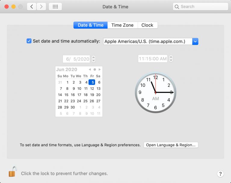 Cara mengatasi privacy error dengan atur waktu dan tanggal