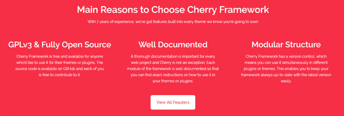 Cherry Framework