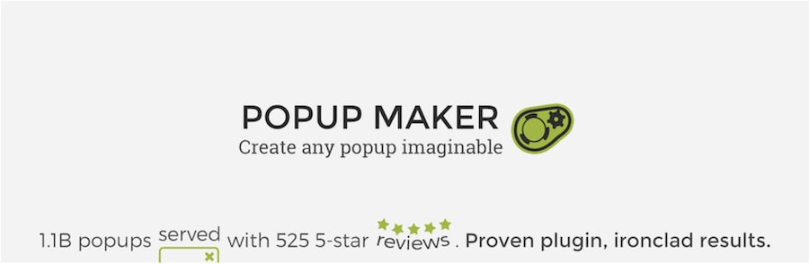 banner opup maker plugin popup wordpress