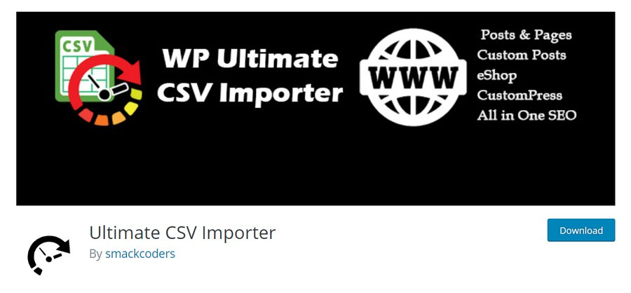 plugin ultimate csv importer wordpress