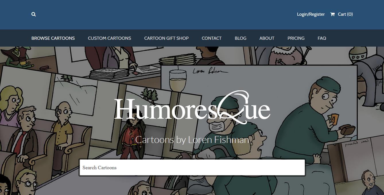 website humoresque cartoons