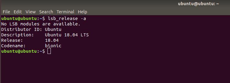output dari menjalankan command yang sudah dijalankan sebelumnya