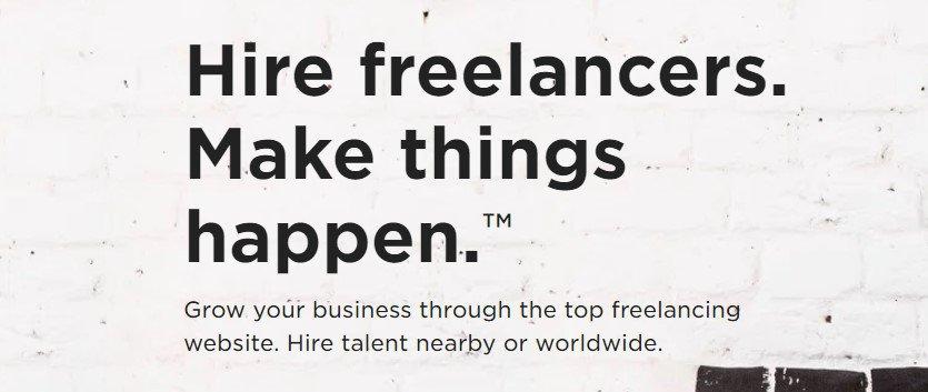 banner website freelancer upwork