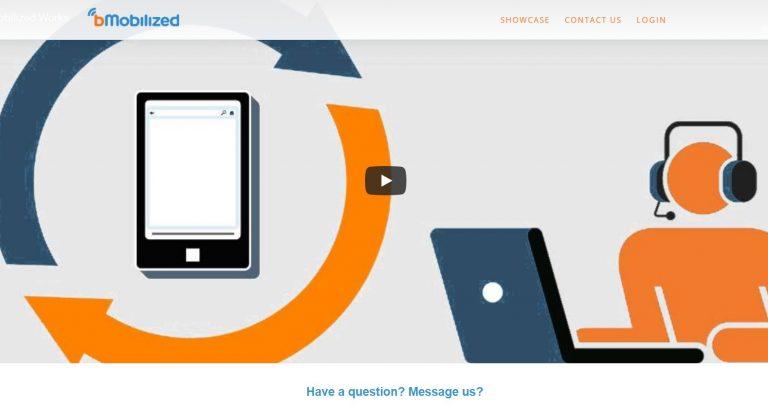 Mengonversikan website mobile friendly dengan bMobilized