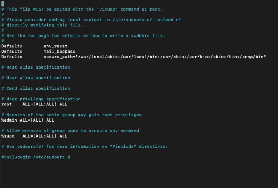 file sudoers pada VPS tutorial sudo