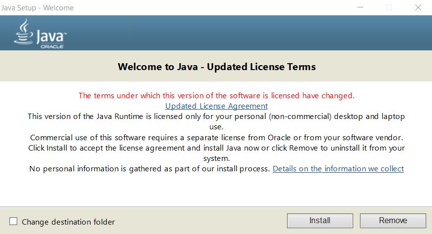 Install Java di Windows