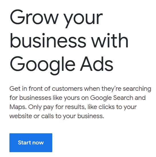 Tampilan Google ads