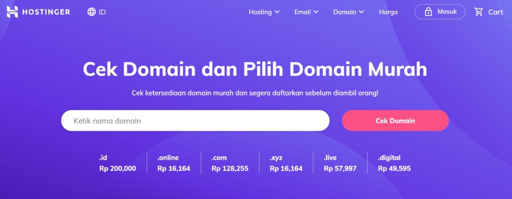 cek domain murah