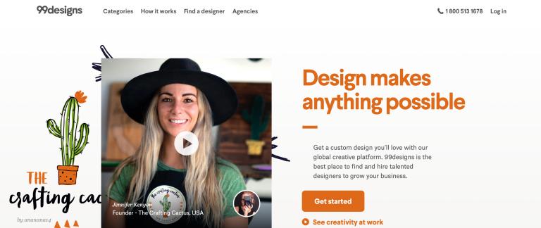 peluang usaha online 99designs