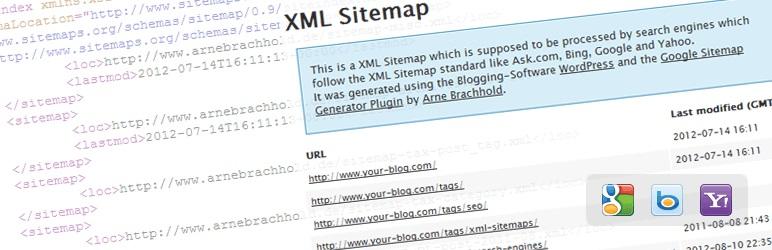 plugin XML Sitemaps dari Google