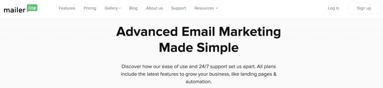 MailerLite layanan email marketing