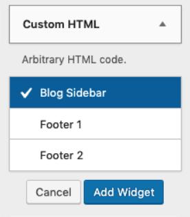 menambahkan widget