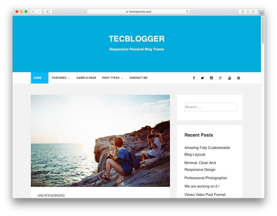 tecblogger untuk blog wordpress