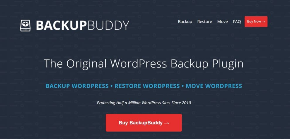 plugin backupbuddy