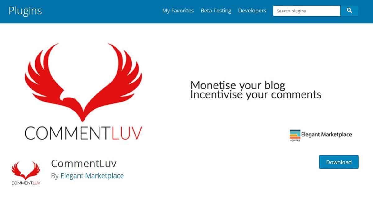 CommentLuv, WordPress comment plugin