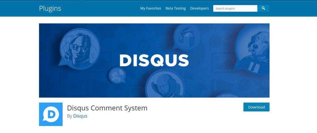Disqus Comment, WordPress comment plugin