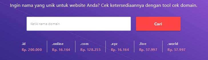 tool untuk cek nama domain