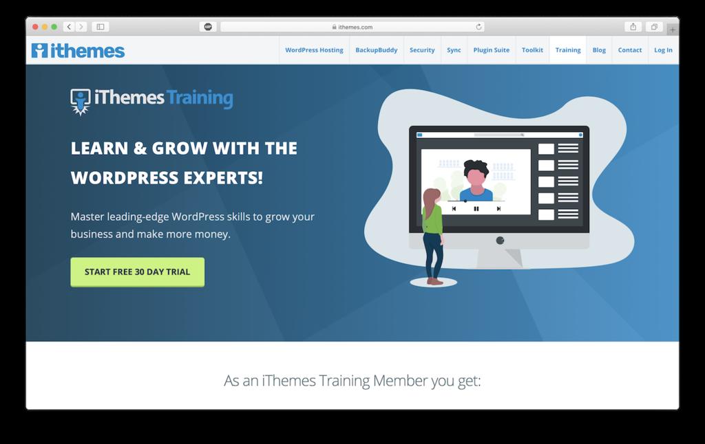 Panduan WordPress di iThemes