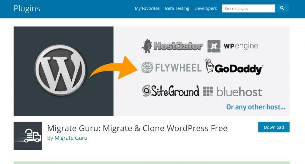 plugin migrate guru
