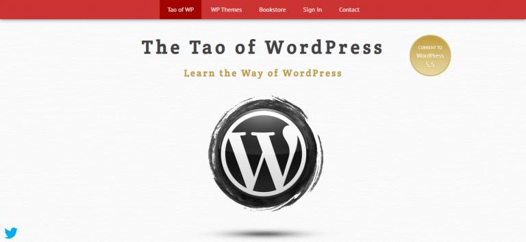 The Tao of WordPress