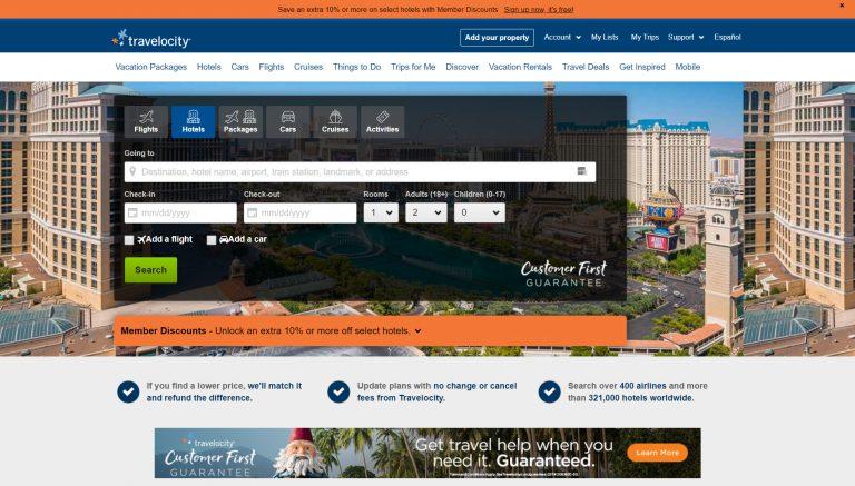 Website agen perjalanan